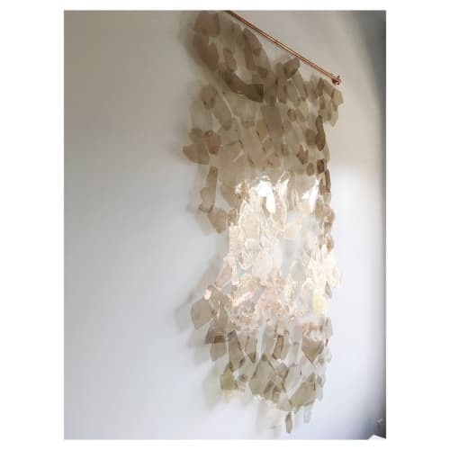Tapestry of Light   Wall Hangings by Christina Watka   Private Residence, Upper East Side, NYC in New York