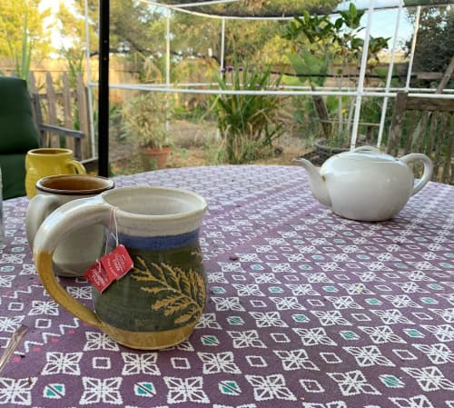 Large cup of tea   Cups by Orna's Pottery