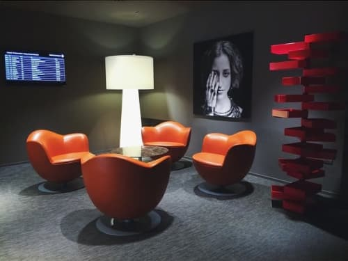 Chairs by Gustavo Martini seen at Istituto Marangoni, London - Chair