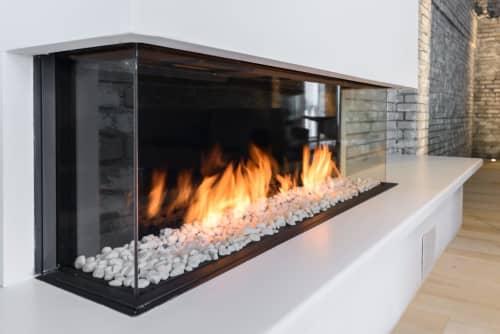 Fireplaces by European Home seen at Minneapolis, Minneapolis - Trisore 140 Gas Fireplace