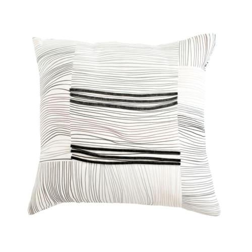Pillows by Jill Malek Wallpaper - Nest Pillow   Coffee Gray