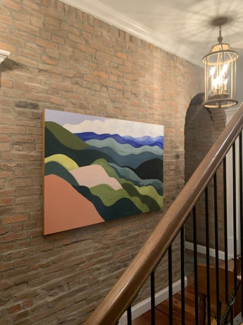 Paintings by Between the Evergreens - Rainbow Mountains