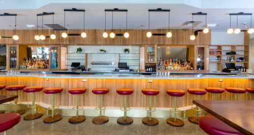 Custom INEZ Barstools by Crump and Kwash   Chairs by Crump & Kwash   Unconventional Diner in Washington