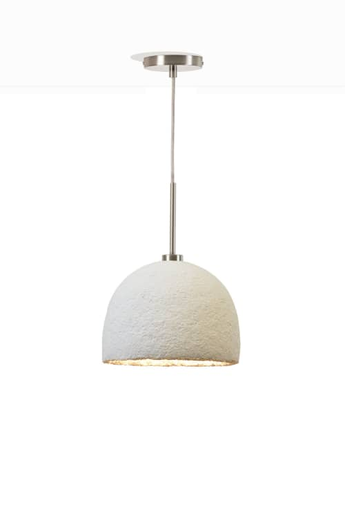 MushLume Cup Light Pendant | Pendants by Danielle Trofe Design