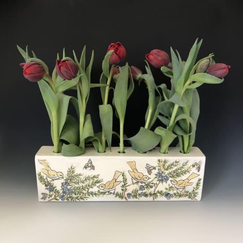 Vases & Vessels by Marla Benton seen at Mahone Bay - Vases & Flower Bricks