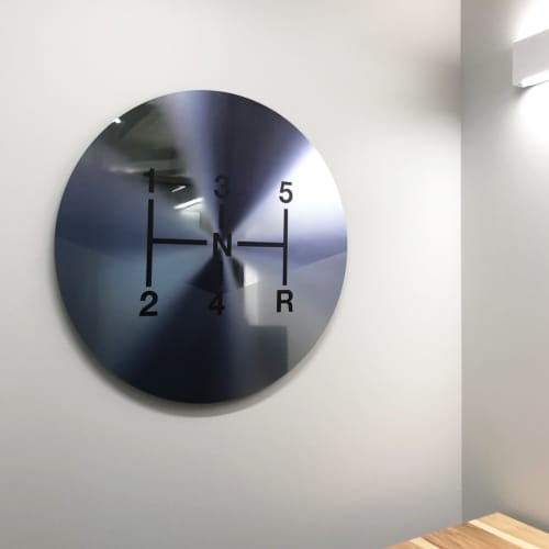 "Art & Wall Decor by ANTLRE - Hannah Sitzer seen at Google RWC SEA6, Redwood City - ""Shift"""