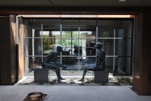 Sculptures by Cezary Stulgis seen at Private Residence - Dialouge