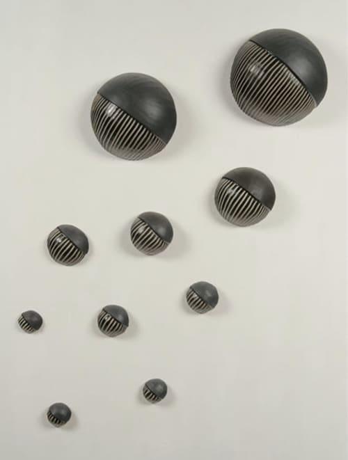 Sculptures by Larry Halvorsen - Northwest Wall Balls