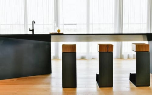THE LINE Bar Stools | Chairs by Baker Street Boys London