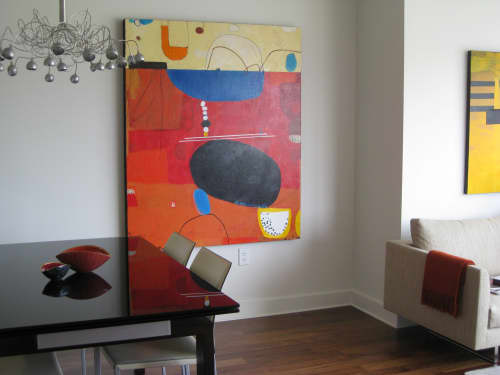 Paintings by Sidnea D'Amico seen at Private Residence, San Francisco - Seeds