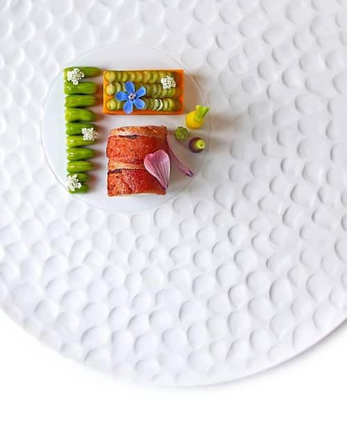 Ceramic Plates by Mieke Cuppen at Lisbon, Lisbon - Texture plate Escamas