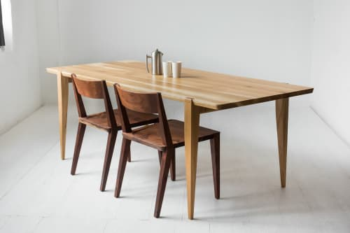 "Tables by Studio Moe seen at Creator's Studio, Portland - 84"" Oslo Dining Table in White Oak"