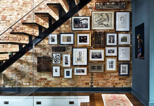 Interior Design by Zoe Feldman Design seen at Private Residence - H Street Rowhouse Interior Design