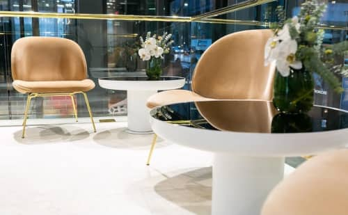 Bronze Mirrored Mood Coffee Tables | Tables by Dean Norton | Brickworks Melbourne Design Studio in Melbourne
