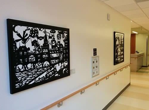 BZCT | Art & Wall Decor by Beatrice Coron | Zuckerberg San Francisco General Hospital and Trauma Center in San Francisco