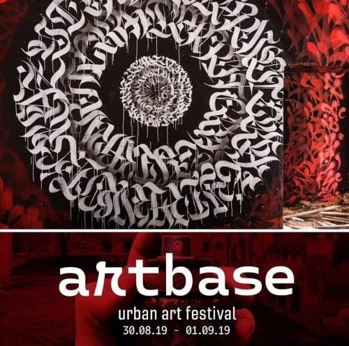 ARTBASE FESTIVAL   Murals by YAT