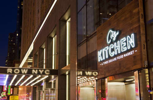 Signage by Tee Pee Signs at City Kitchen, New York - Signage