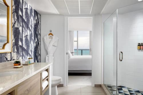 Tiles by Audrey Lane seen at Cadillac Hotel & Beach Club, Autograph Collection, Miami Beach - Triangle
