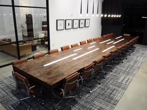 Tables by Project Sunday seen at Edge | The Service Company, Orem - Edge Conference Table