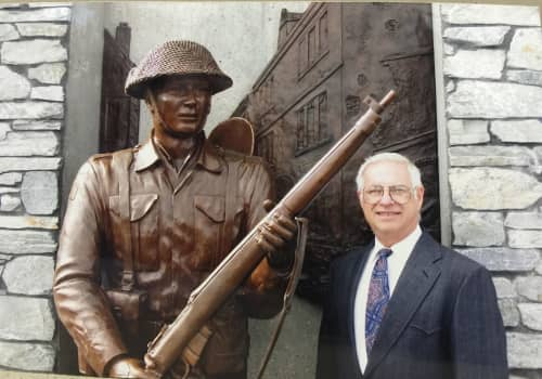 Currie Barracks WWII Commemorative Army Statue   Public Sculptures by Don Begg / Studio West Bronze Foundry & Art Gallery