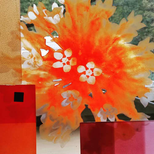 Glass Floral | Paintings by Cara Enteles Studio