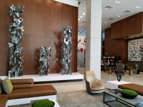 Public Sculptures by Steve Zolin Art at AC Hotel New York Times Square, New York - Family Group