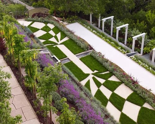 Plants & Landscape by Zeterre Landscape Architecture seen at Private Residence, Los Gatos - Cypress Ridge - Los Gatos