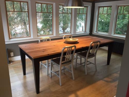 Boston Old Oak Farm Table   Tables by Saltwoods