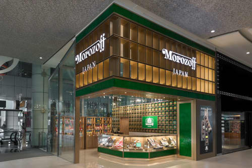 Morozoff JAPAN / Plaza singapura Singapore | Interior Design by Roito | Plaza Singapura in Singapore
