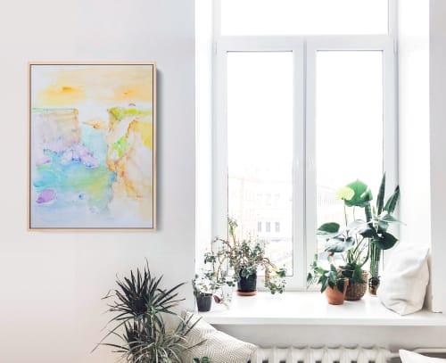 Paintings by Kara Suhey Print Shop seen at Creator's Studio, Santa Barbara - Soft Summer