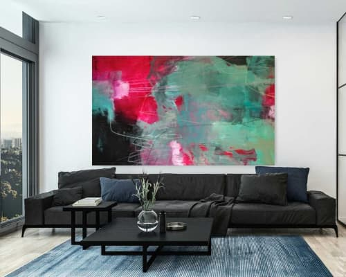 Paintings by Jeanette Goulart seen at Private Residence, Clovis - Abstract Painting