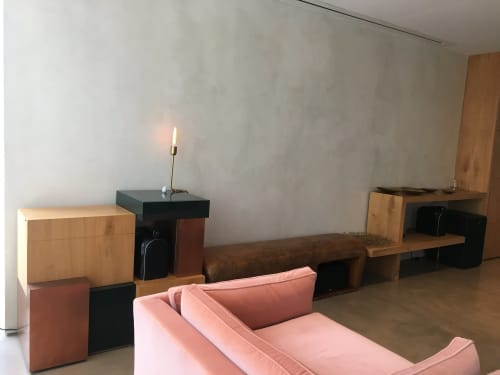 Furniture by Estudio Manus seen at Private Residence, Vitoria - Bar Vitoria
