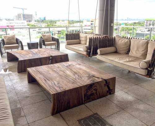 Outdoor coffee tables | Tables by Doro Designs | 2 Midtown in Miami