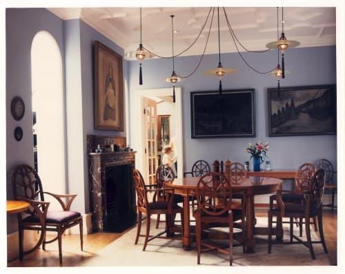 Cardinal Hat Lights   Pendants by Lutyens Furniture & Lighting