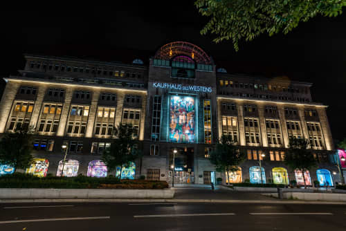 ADVERTISING   Murals by YAT   Berlin in Berlin