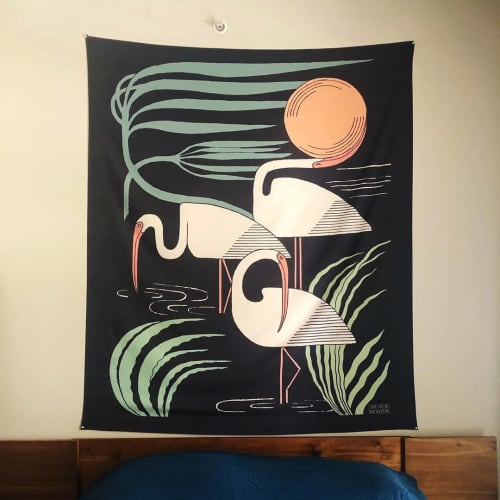 Art & Wall Decor by Mike Willcox seen at Private Residence, Austin - Ibis Tapestry