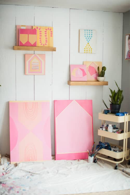Paintings by Heather Kirtland at Baltimore, Baltimore - Touch