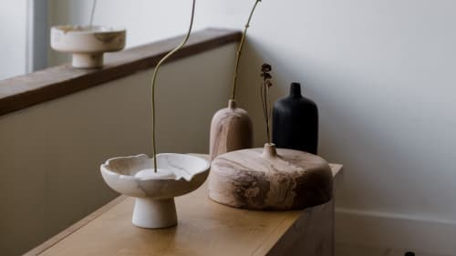 Vases & Vessels by Whirl & Whittle seen at Creator's Studio, Ottawa - Siaa Ikebana-Style Vase #2