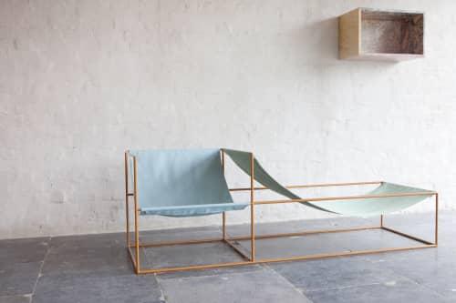 Couches & Sofas by Muller Van Severen seen at valerie_traan, Antwerpen - Duo Seat