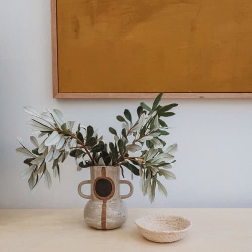 Ceramic vase   Vases & Vessels by Mel Lumb