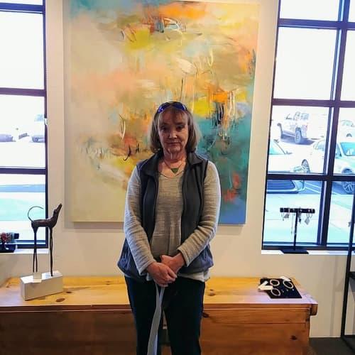 Paintings by Debora Stewart at Wilde Meyer Gallery, Tucson - Abstract Painting