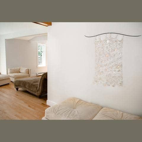 Hiems Caelo (Winter Sky) Installation | Art & Wall Decor by Susan Freda