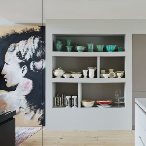 Paintings by Neil Dunne Studio seen at Private Residence, Dublin - 'Icon Study'