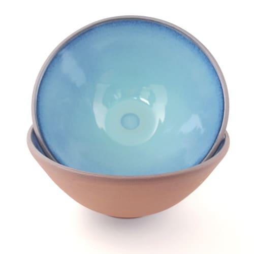 Navajo Deep Serving Bowl   Tableware by Tina Fossella Pottery