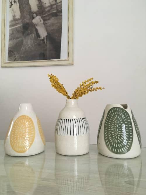 Bud vases | Interior Design by Anna Bowie Ceramics
