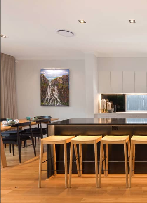 Furniture by Caesarstone Australia seen at Private Residence, Brisbane, Brisbane - Kitchen Counter