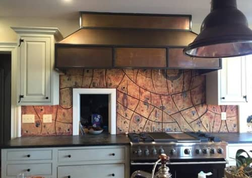 Kitchen backsplash | Interior Design by Rhoda Kahler