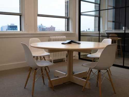 Physalia Round Table in Ash | Tables by Asa Pingree | FinTech Collective in New York