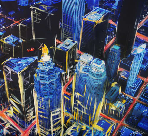 Paintings by Pete Kasprzak seen at Toronto, Toronto - Money Shot
