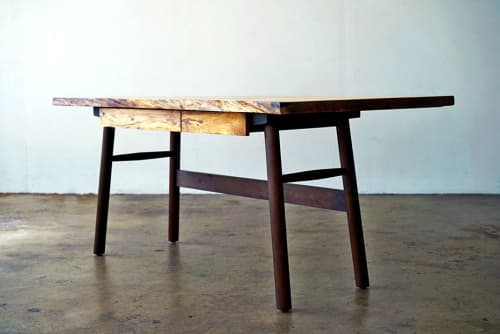 Tables by Brawley Made seen at Angel City Lumber, Los Angeles - Angel City Desk